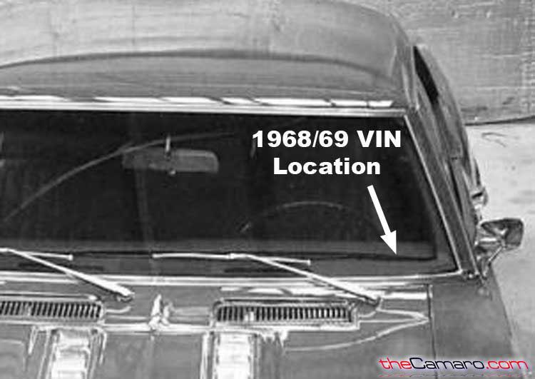 chevy vin trim tag and drivetrain information decoding  1971 camaro